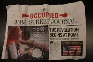 The 99 Percent: A Wall Street Employee's Quest to Understand the Occupy Wall Street Movement – Part I