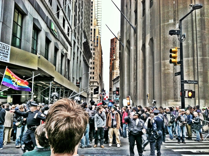 Photo of the Day: Chaos from the #OWS Protests in Gotham City