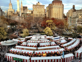 union square holiday market nyc