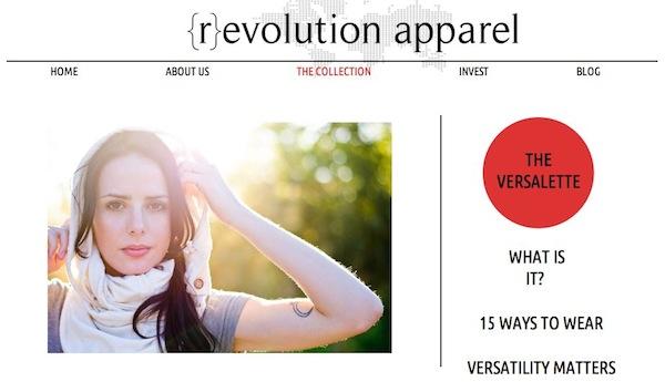 {r}evolution apparel: One Garment, 15 Ways, 100 Percent Recycled