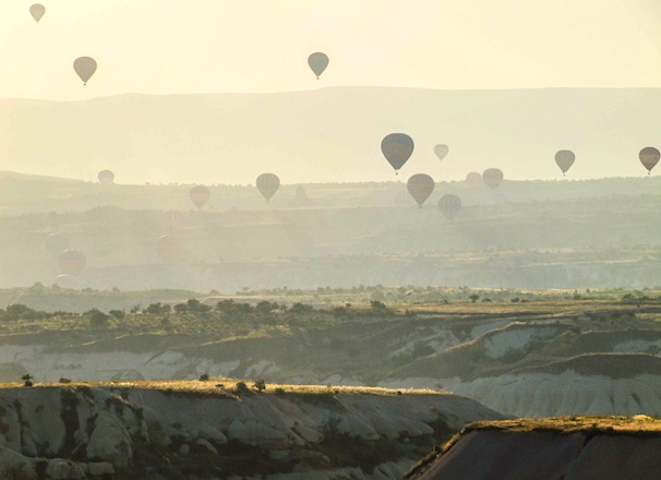 Pin It: Travel the World – Hot Air Balloons Over Cappadocia