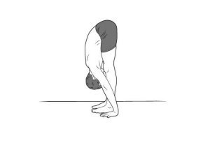 Standing Forward Bend Yoga