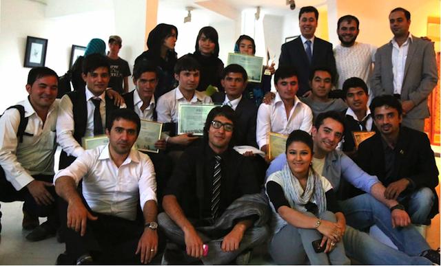 graduation afghan voices