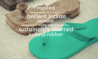 These Indian Inspired Sandals Are Made From Natural Rubber From Family-Owned Farms