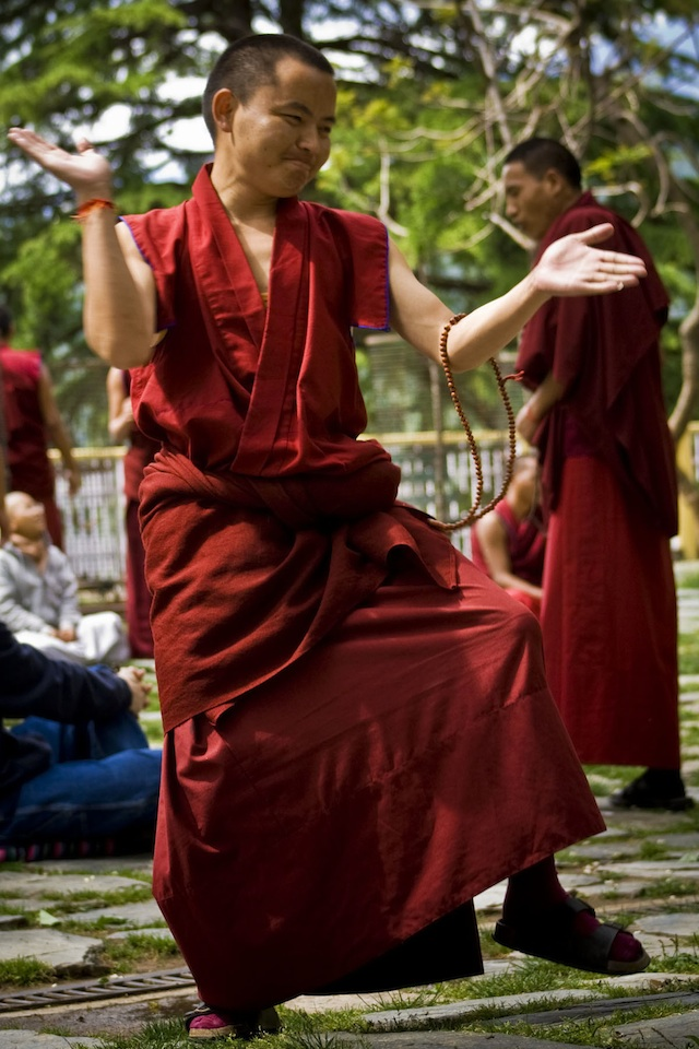 Monk McLeod Ganj, Dharamsala