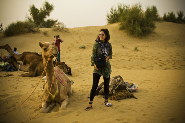 The vast Thar Desert surrounds this dusty city, which seems to still ...
