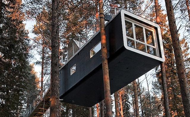 Soar at sweden 39 s sublime treehotel huffpost for Stockholm appart hotel