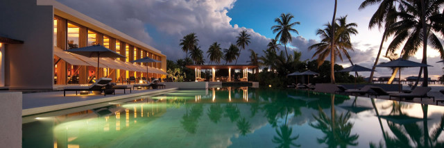 Park Hyatt Maldives Hadahaa Poolside e1393459636814 Where to Escape in the Middle East and Indian Ocean Now