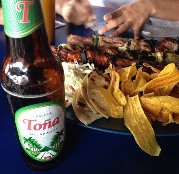 Toño, a local beer