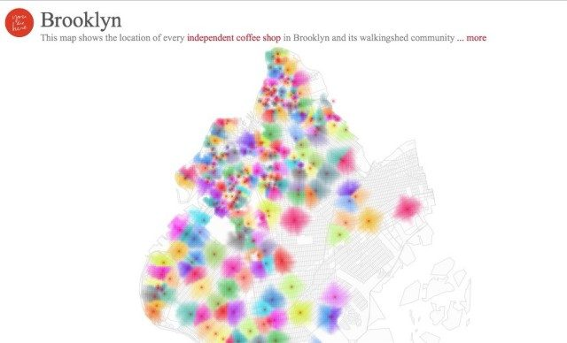 Looking to Support Local? Here's an Awesome Map of Indie Coffee Shops in Brooklyn