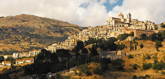 Sicilian Mountain Village