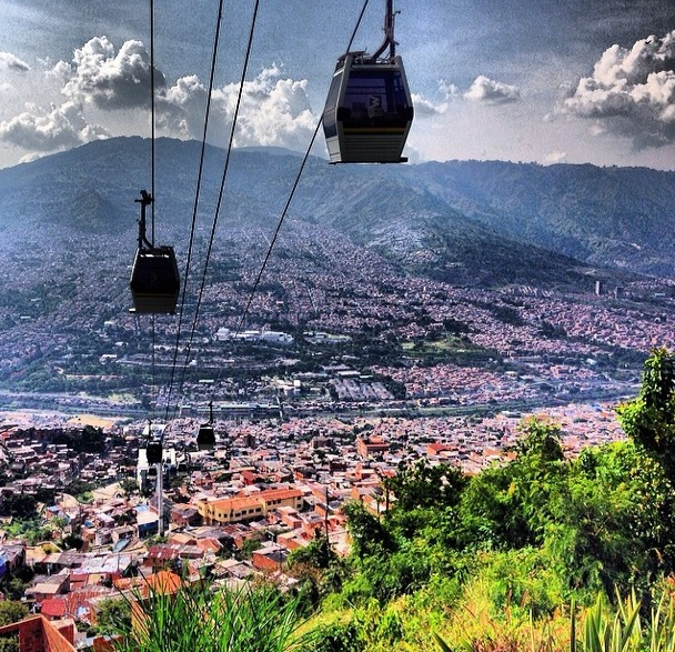 Medellín metro system