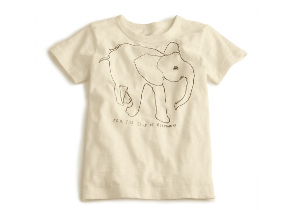 e80ded44d5a99c Tiny T-Shirts to Save the Elephants - Culture-ist