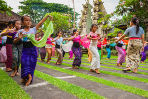 Dancing in Ubud's Pondok Pekak Library