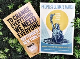 peoples climate march nyc flyer walk the walk