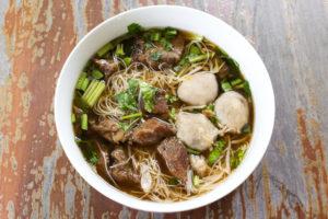 meat noodle soup