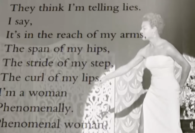 Maya Angelou's Advice on Being a Phenomenal Woman