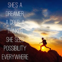 She's a dreamer quote
