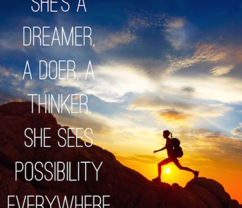 She's a dreamer quote