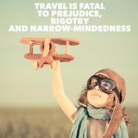 travel is fatal to prejudice mark twain