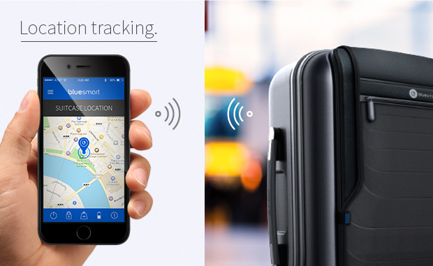 Bluesmart-Location GPS