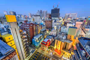 Kabuki-Cho: Tokyo's Red Light District in the Morning