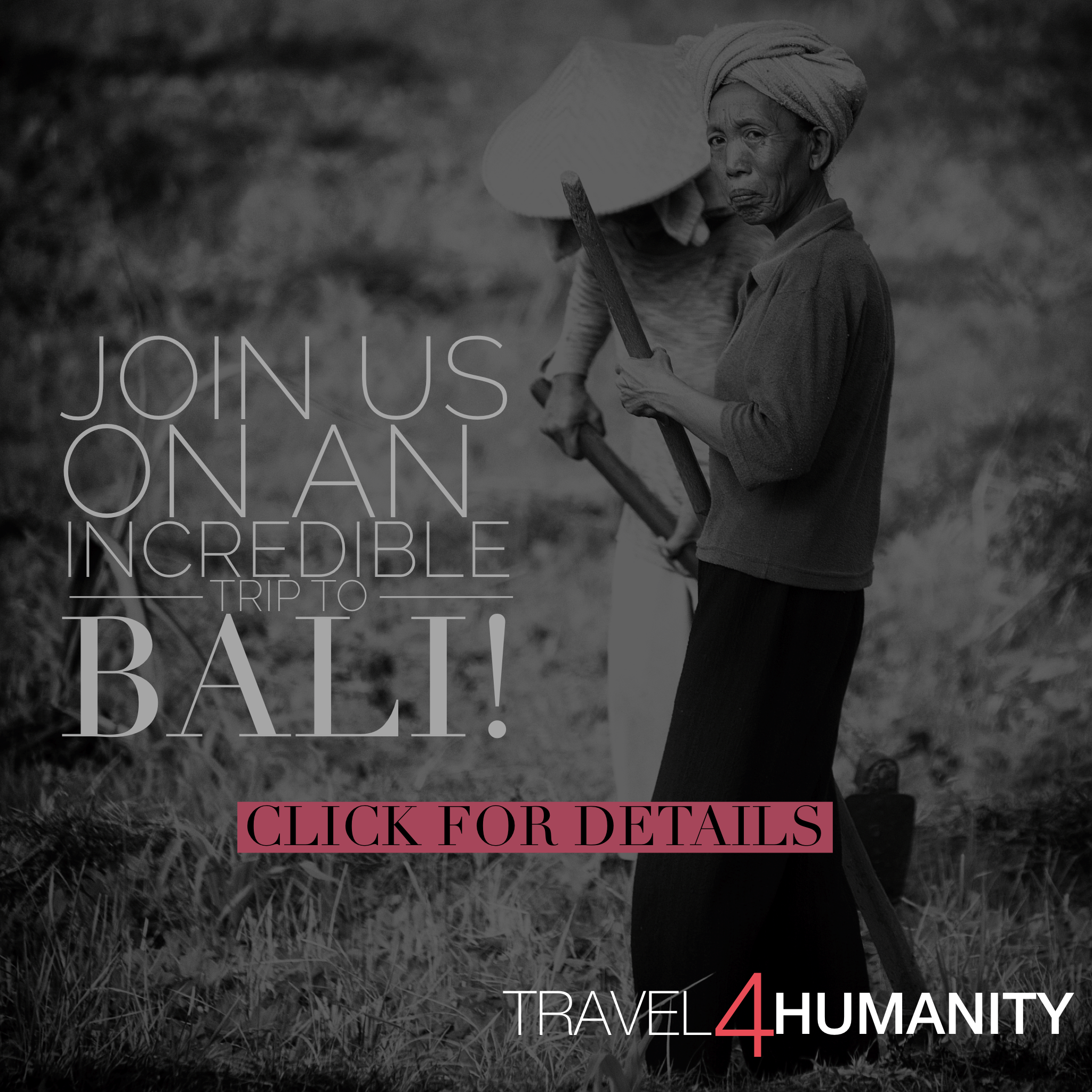 Join Our Trip to Bali!