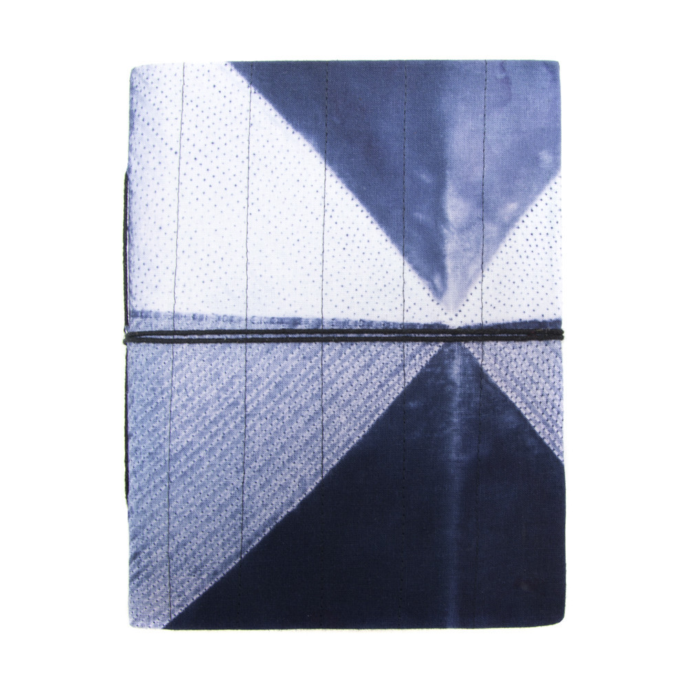 Large Geo Dyed Journal, $24 USD - Made by artisans in India from hand-dyed cotton.