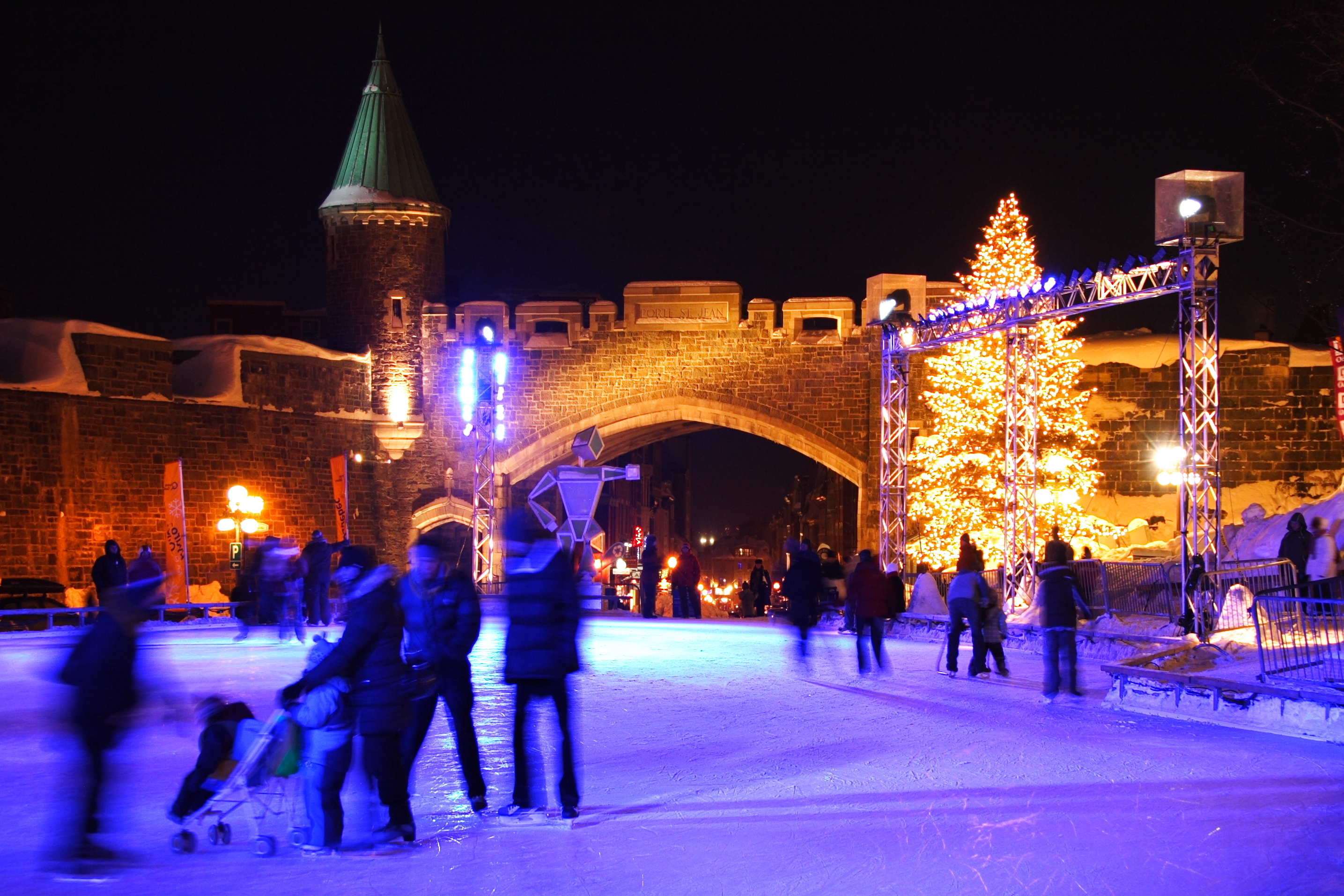 Quebec Winter Carnival via Shutterstock