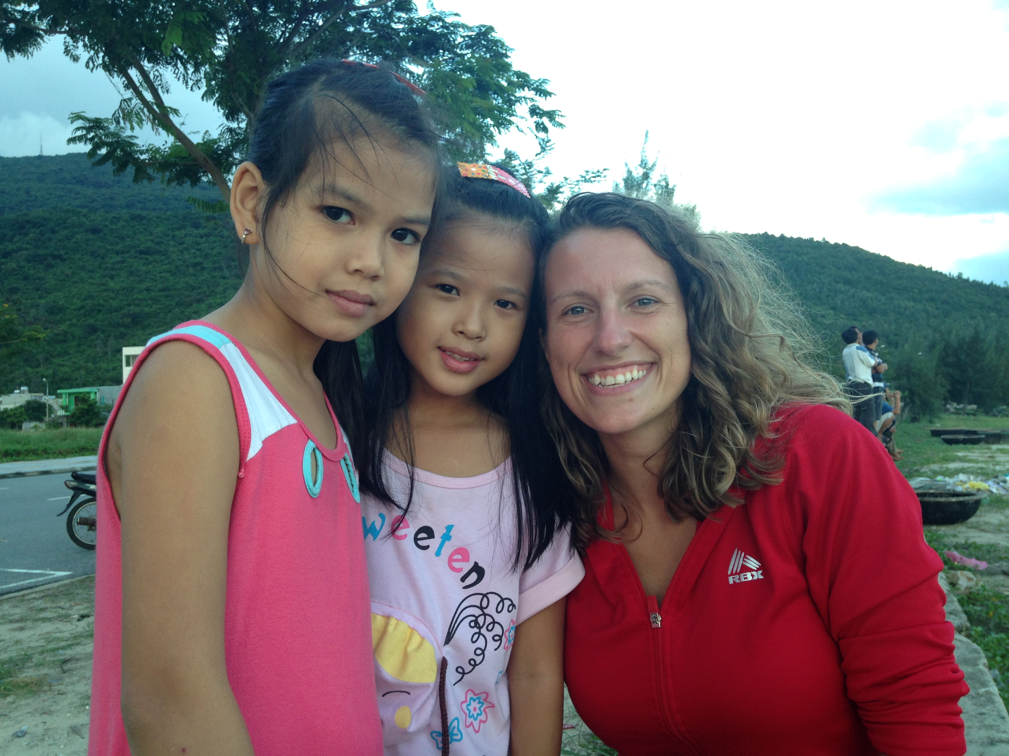 Katie hoped to couchsurf more during her time in Vietnam, but she was still able to connect with locals during her time there.