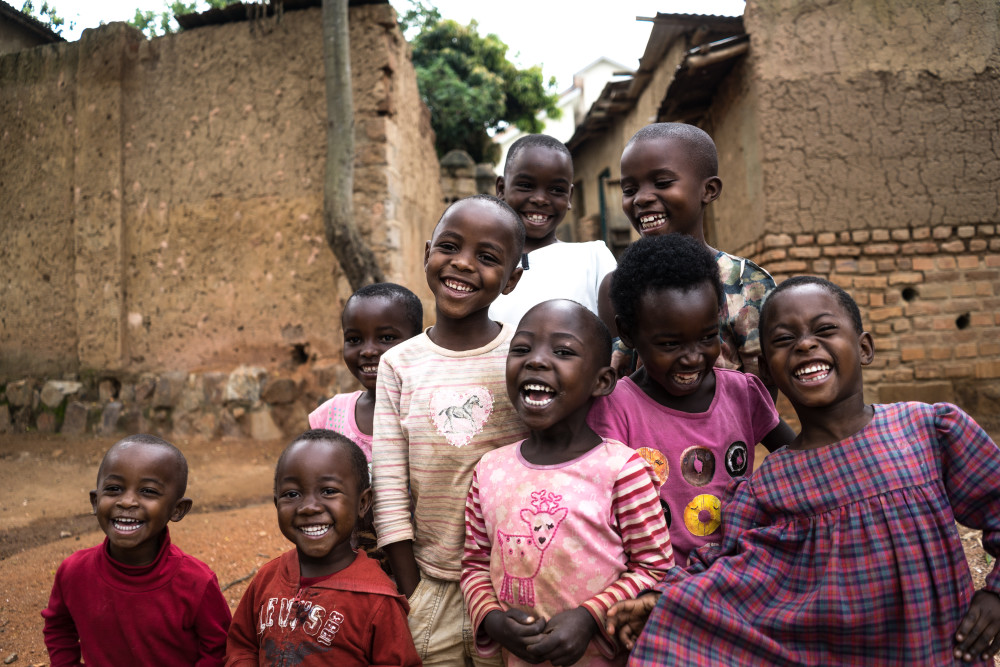 laughter in the village