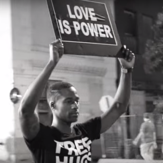 This Video Shows How a Hug Can End the Violence in Our Country