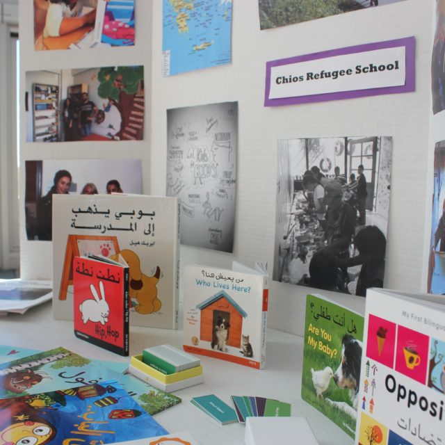 How One Woman Is Bringing Books to Syrian Refugee Children