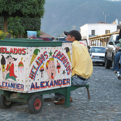 local in antigua, guatemala