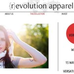 {r}evolution apparel: One Garment, 15 Ways, 100 Percent Recycled