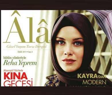 Ala Magazine Cover, Turkey