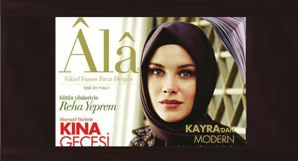 Ala Magazine Cover, Turkey