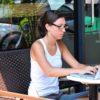 Entrepreneur working on Mac