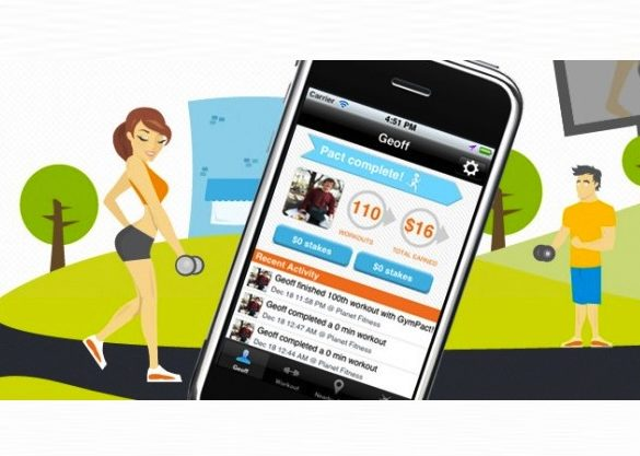 GYMPACT - iPhone App
