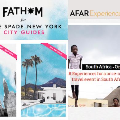 AFAR and FATHOM - Travel News