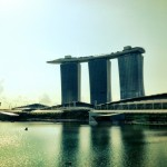 Singapore hawker stand - Marina Bay Sands