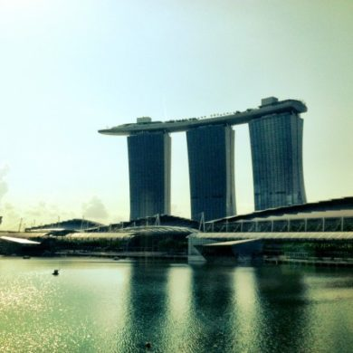 Singapore hawker stand - Marina Bay Sands