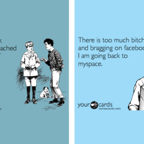 bragging on facebook