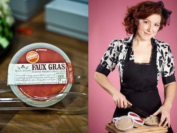 the regal vegan faux gras