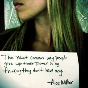 Alice Walker Quote - Miss Representation