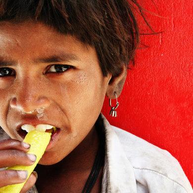 india homeless child