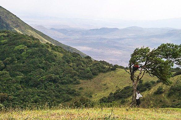 Nairobi, Kenya - view of the rift valley