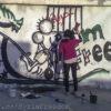 freedom graffiti syria