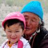 Grandma and granddaughter India