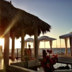 Sunset at the Spa Pavillion - The SPA Retreat
